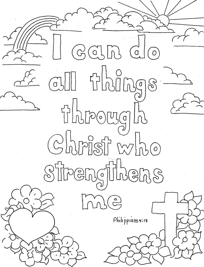 Christian Coloring Pages Youth  1 Thessalonians 516 Bible Coloring