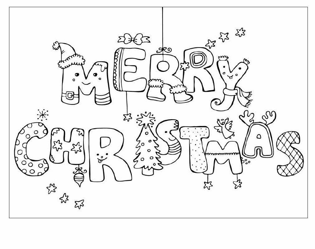 Christmas Cards For Kids To Color Az Coloring Pages Coloring Pages