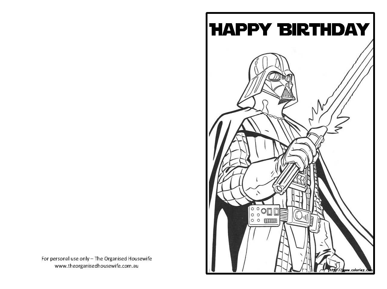 Coloring Page Printable Coloring Birthday Cards In Set Picture
