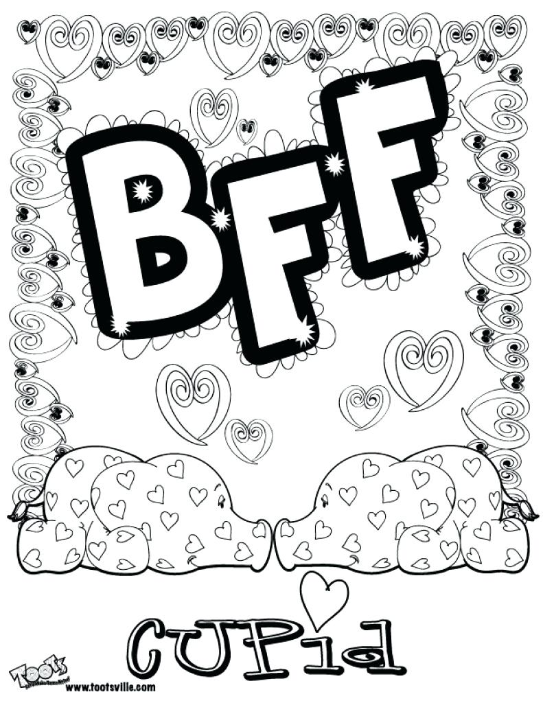 Bff Coloring Pages Shopkins Best For Within