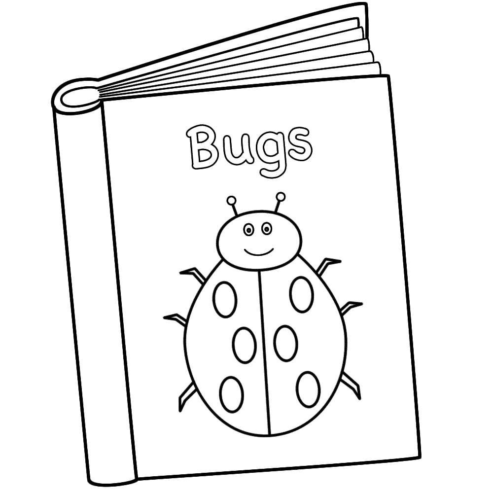 Coloring Pages Of Books 521130