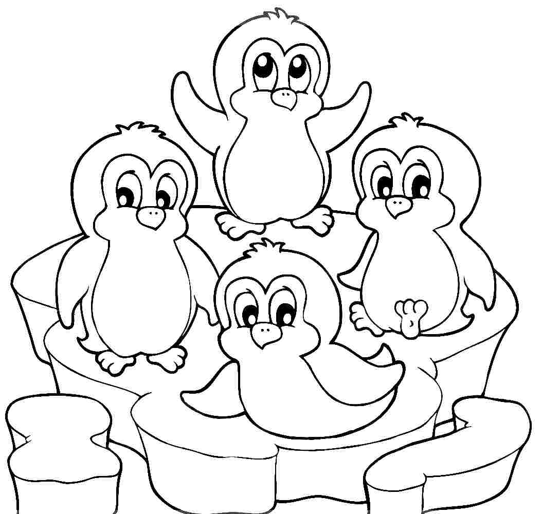 Penguin Coloring Sheets - NEO Coloring