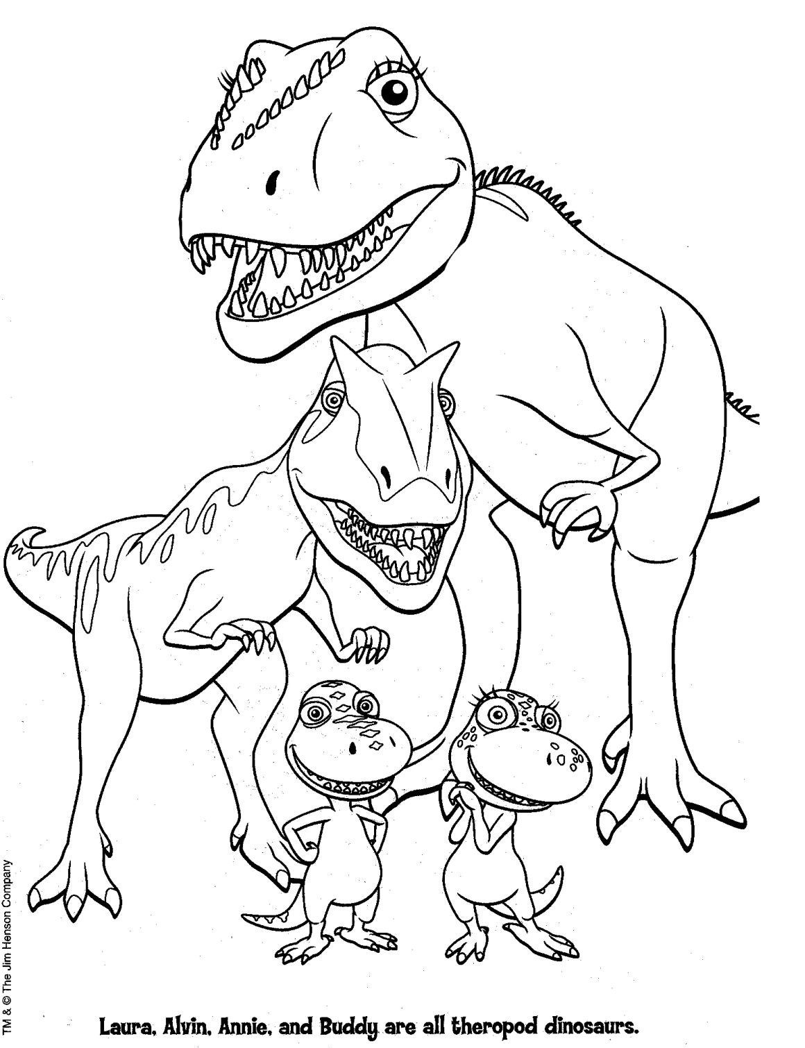 Dinosaur Coloring Pages To Print Animal Cute Printable Free King