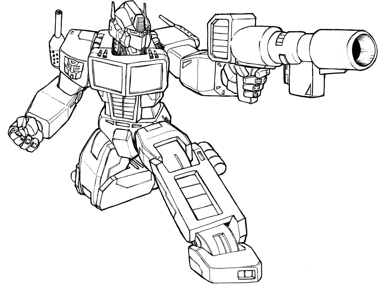 Coloring With Transformers 4 Coloring Pages