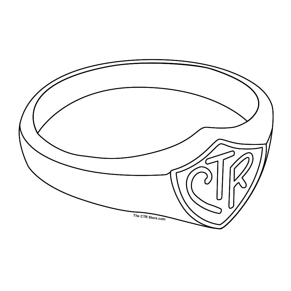 Ctr Coloring Pages Lds And Page