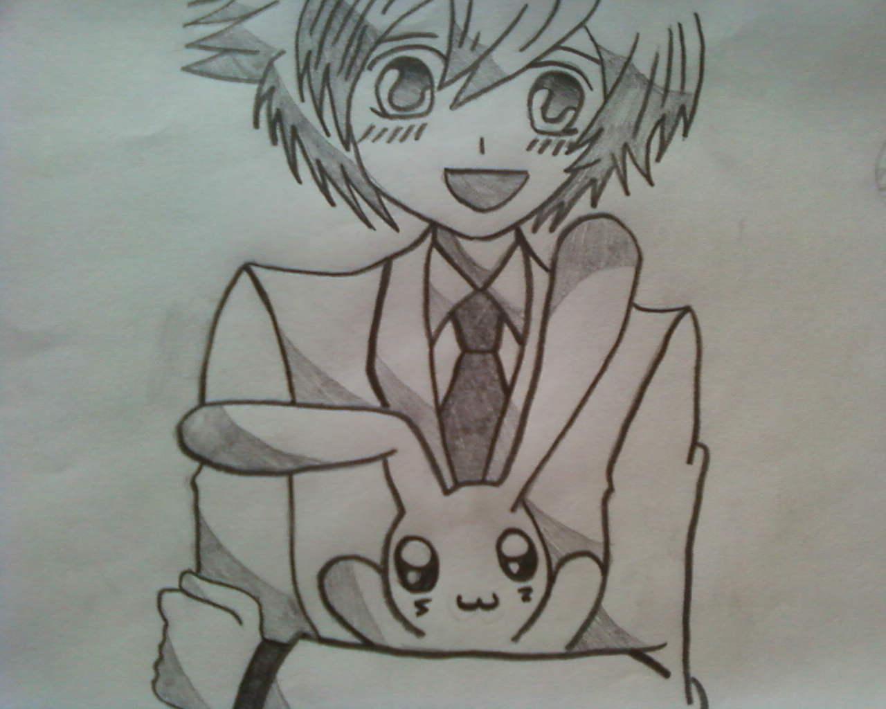 Cute Anime Drawing