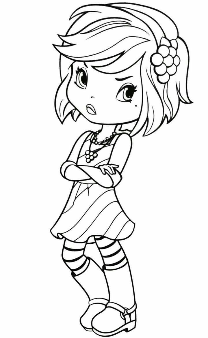 Strawberry Shortcake Character