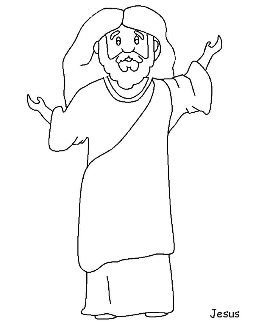 Jesus Parables Coloring Pages Free And Of