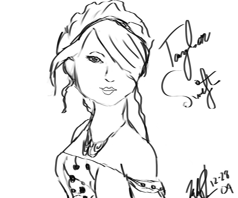 Taylor Swift Coloring Pages - NEO Coloring