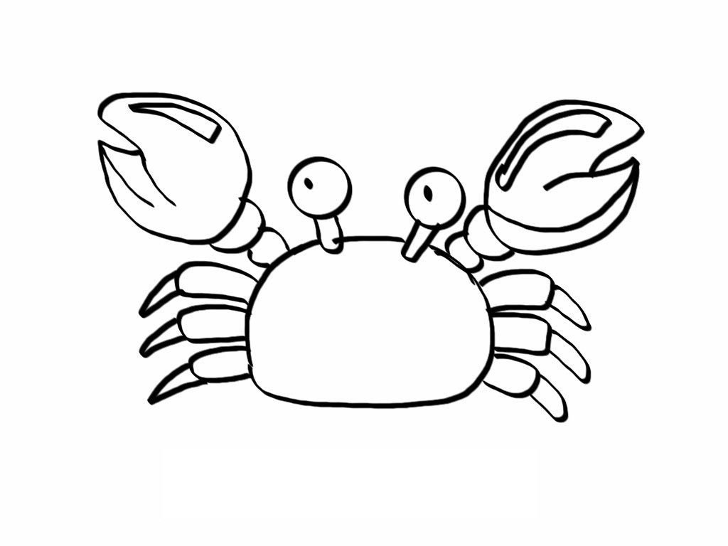 Crab Coloring Pages - NEO Coloring