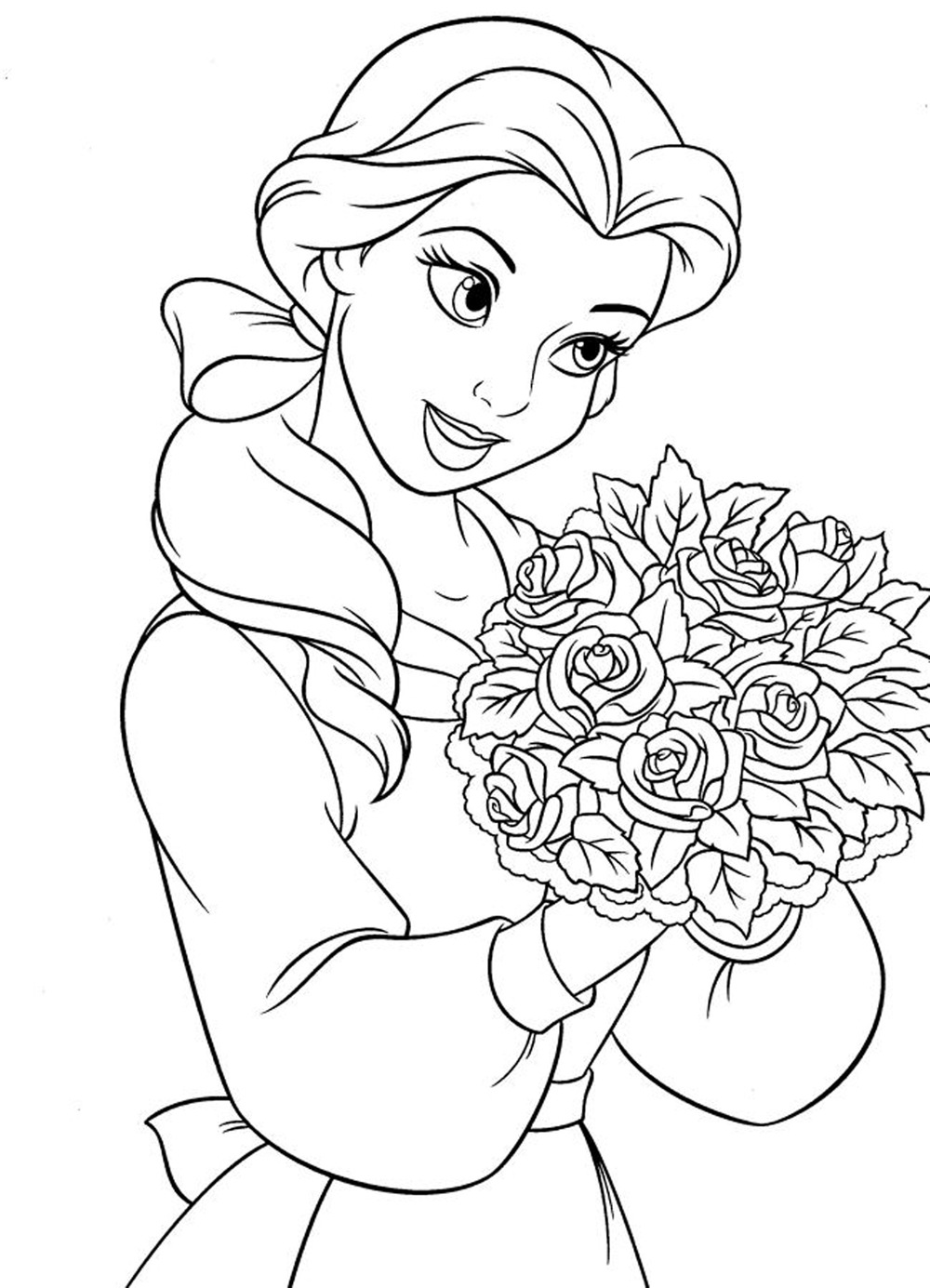 Elegant Disney Princess Coloring Pages 28 About Remodel Free