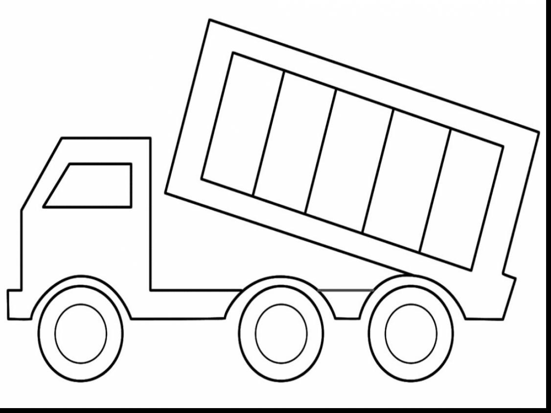 Excellent Dump Truck Coloring Pages With Garbage Truck Coloring