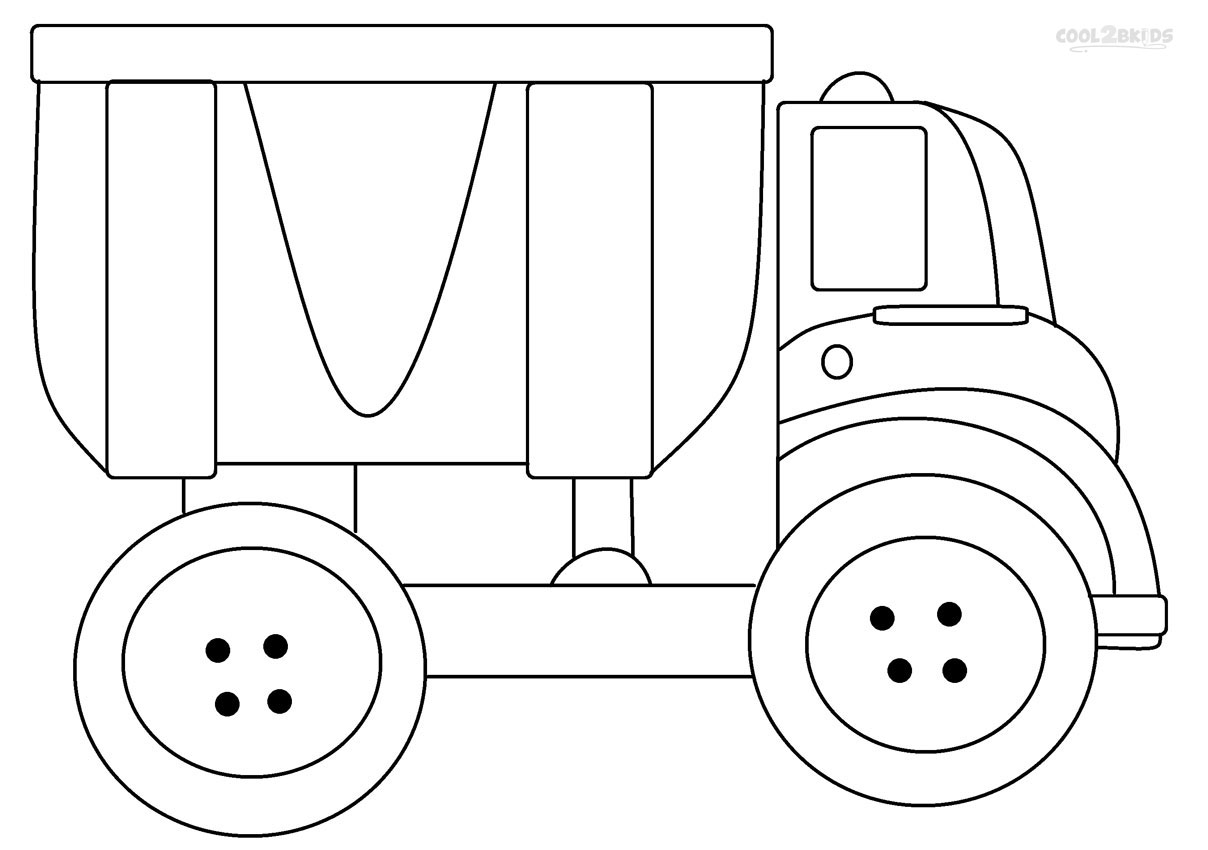 Fancy Dump Truck Coloring Pages 36 In Seasonal Colouring Pages