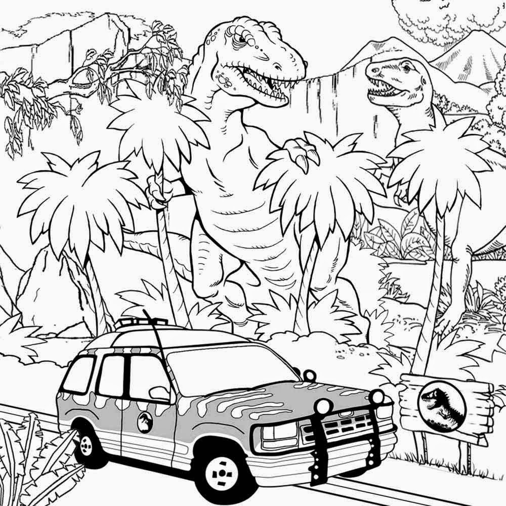 Fancy Jurassic Park Coloring Pages 59 About Remodel Coloring For