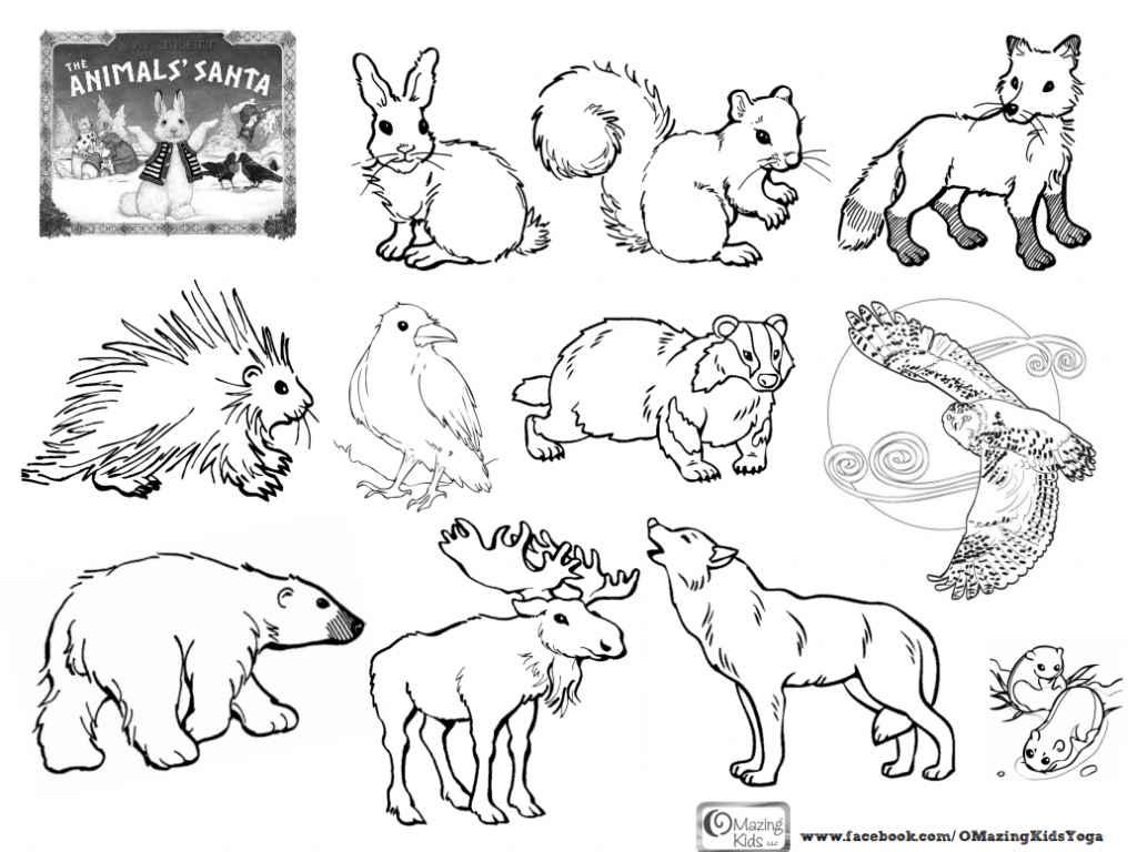 Forest Animals Coloring Pages Inside And Glum Me At