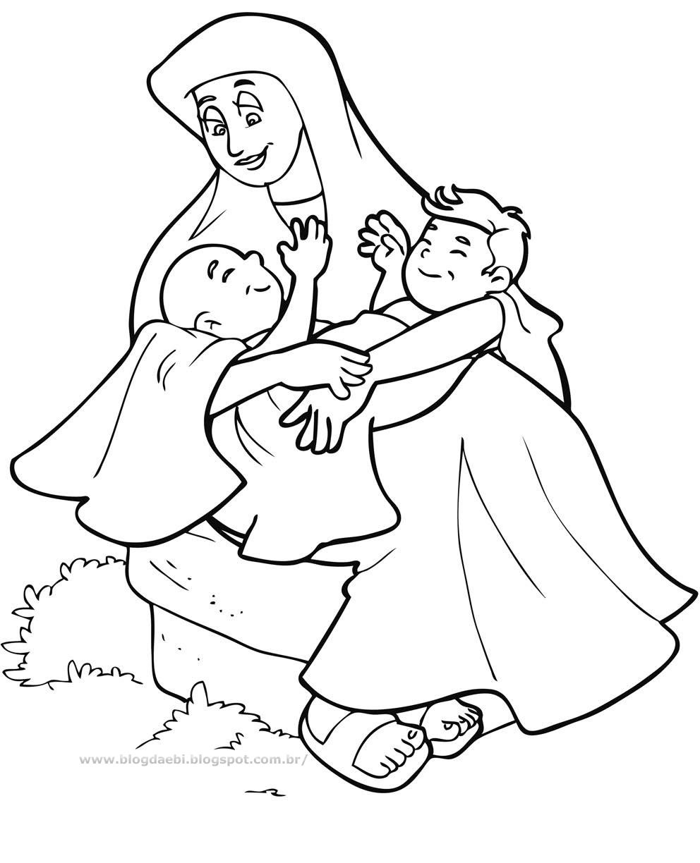 Free Esau And Jacob Coloring Pages 26 About Remodel Coloring Pages