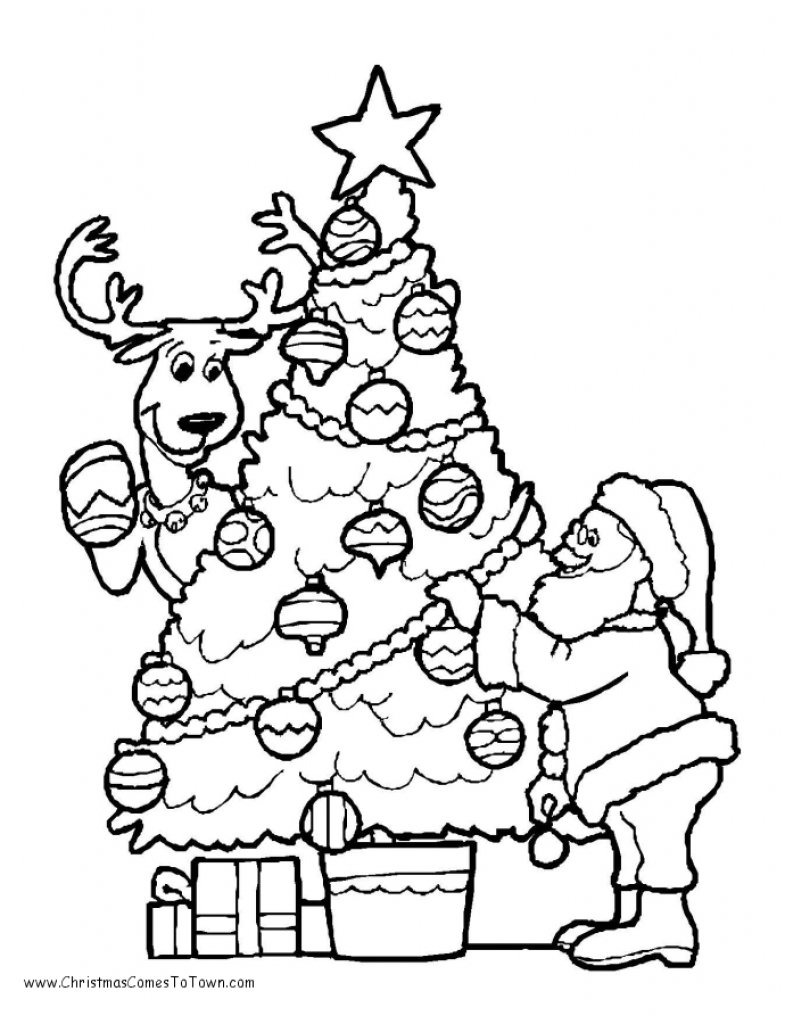 Free Printable Coloring Holiday Coloring Pages For Kids 57 For