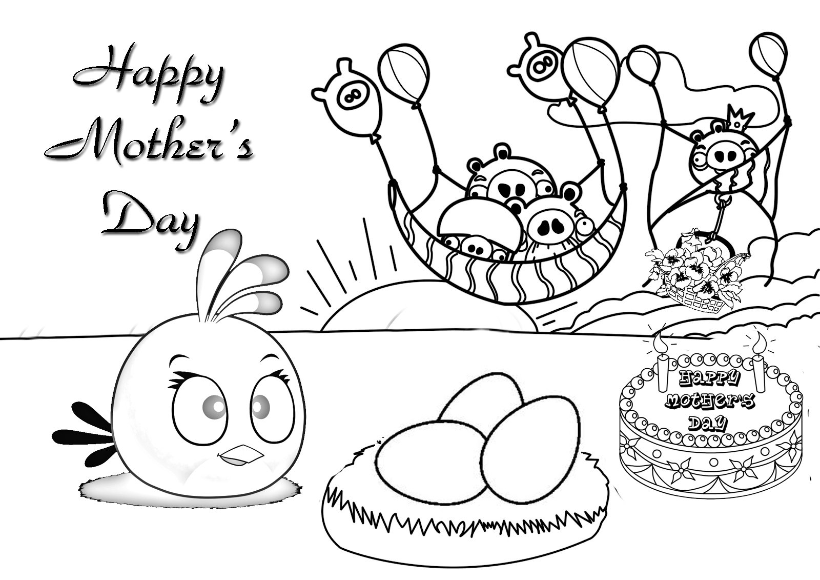 Free Printable Mothers Day Coloring Pages For Kids New