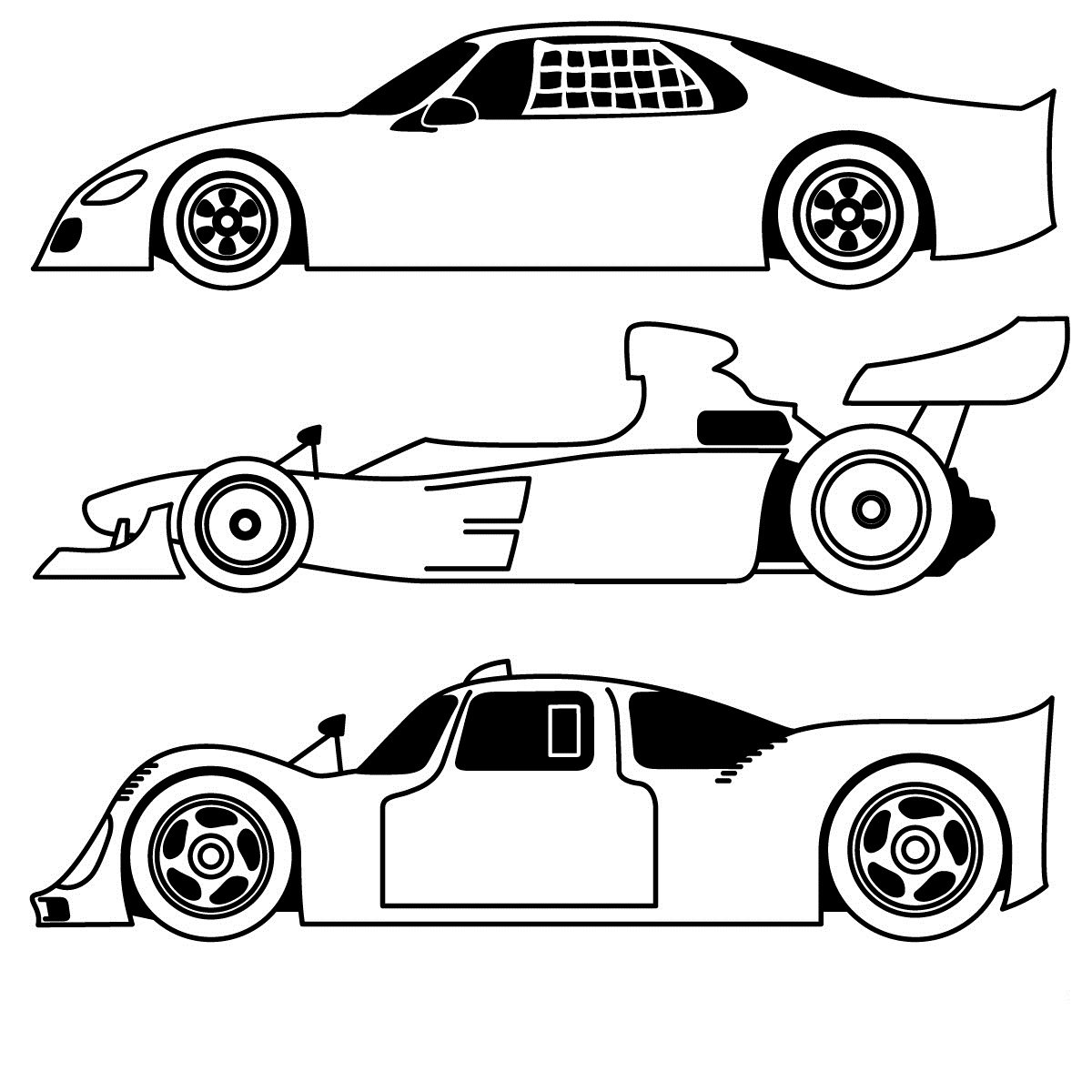 Free Printable Sports Coloring Pages For Kids Within Cars