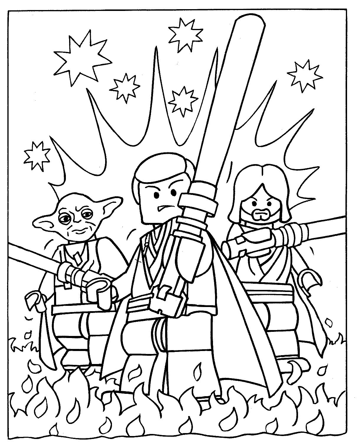 Free Printable Star Wars Coloring Pages For Kids 11329
