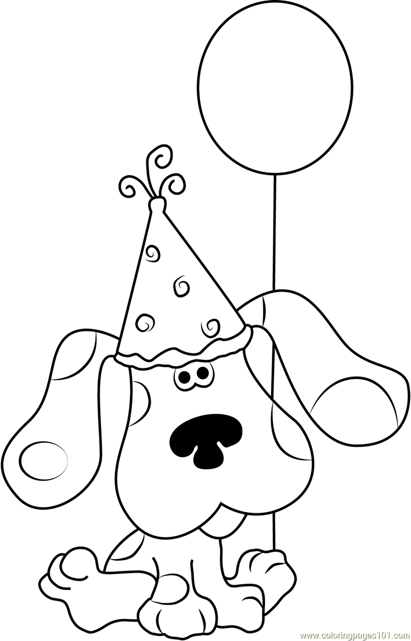 Fresh Blues Clues Coloring Pages 49 For Coloring Print With Blues