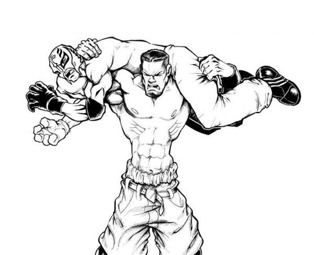 Fresh John Cena Coloring Pages 62 For Coloring For Kids With John