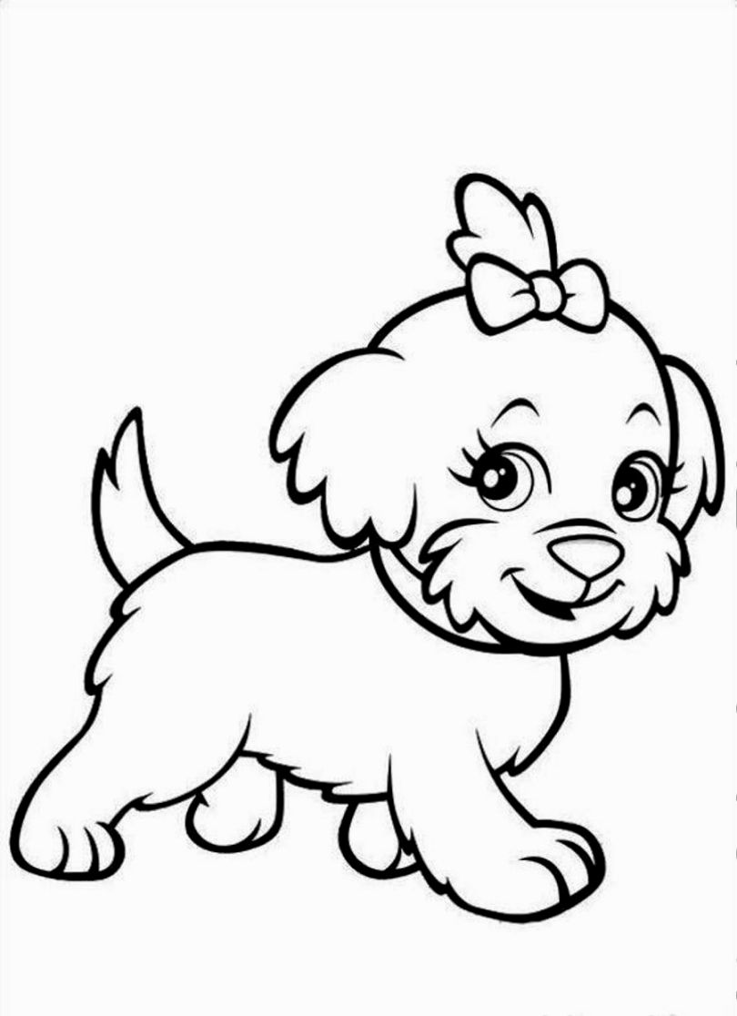 Good Cute Puppy Coloring Pages 96 With Additional Coloring Site