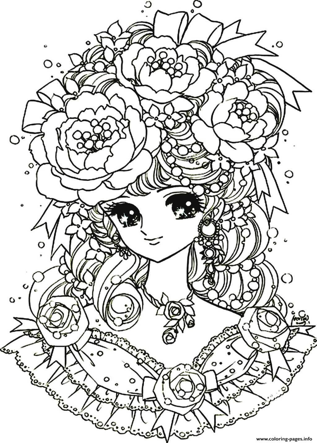 Good Flowers Coloring Pages 18 In Coloring Print With Flowers
