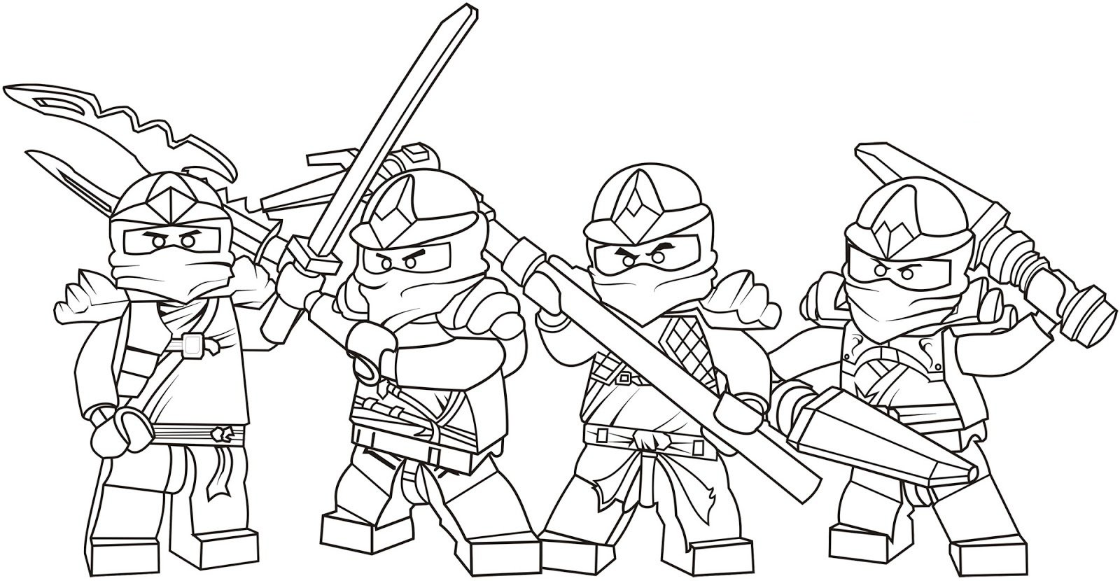 Great Lego Ninjago Coloring Pages 72 With Additional Free Coloring