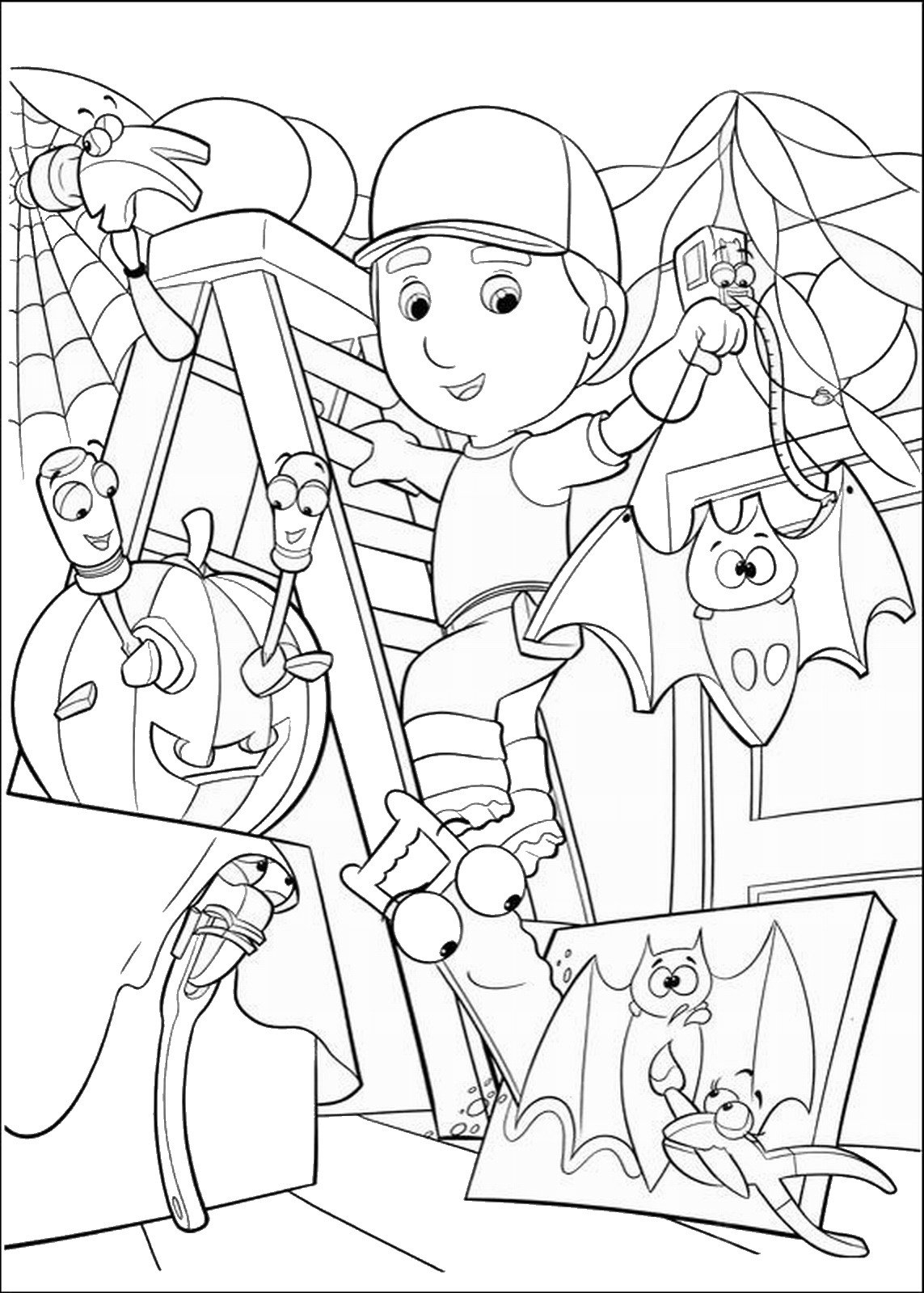 Handy Manny Coloring Pages – NEO Coloring