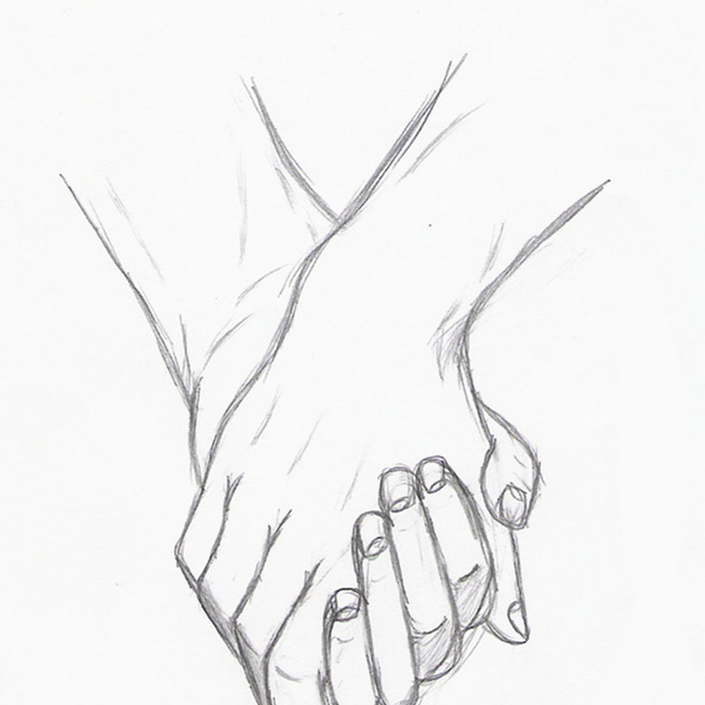 Holding Hands Cute Drawing Cute Drawings Of Lovers Holding Hands