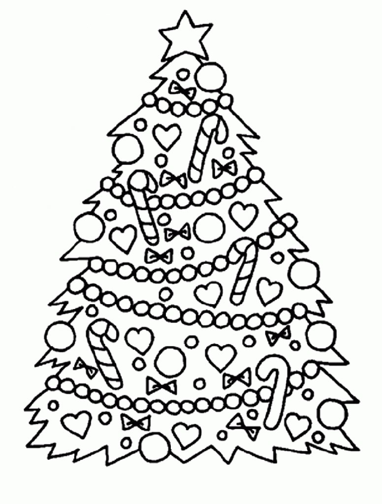 Holiday Coloring Pages Free For House Cool And