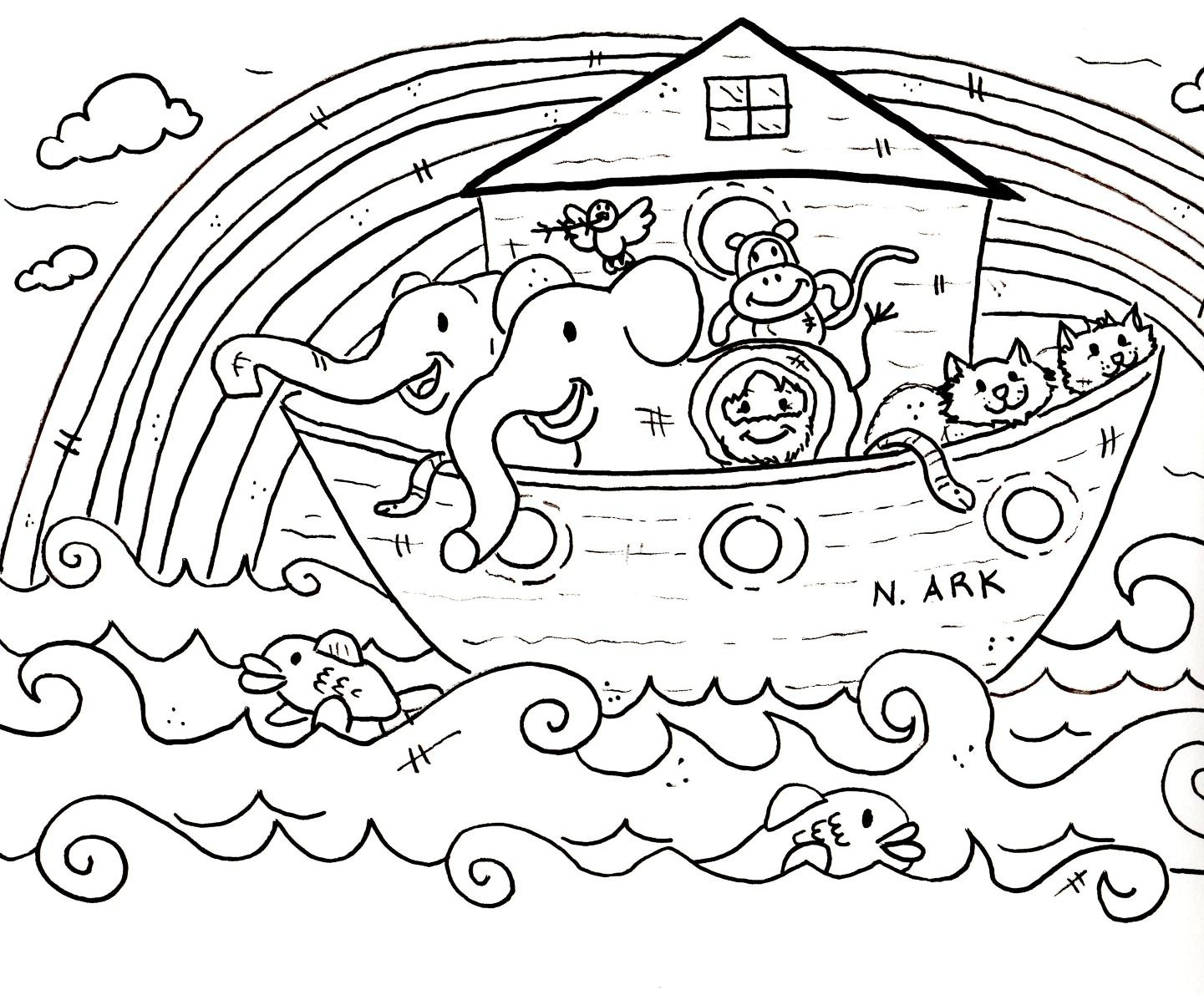 Preschool Bible Story Coloring Pages   Wallpaper Download