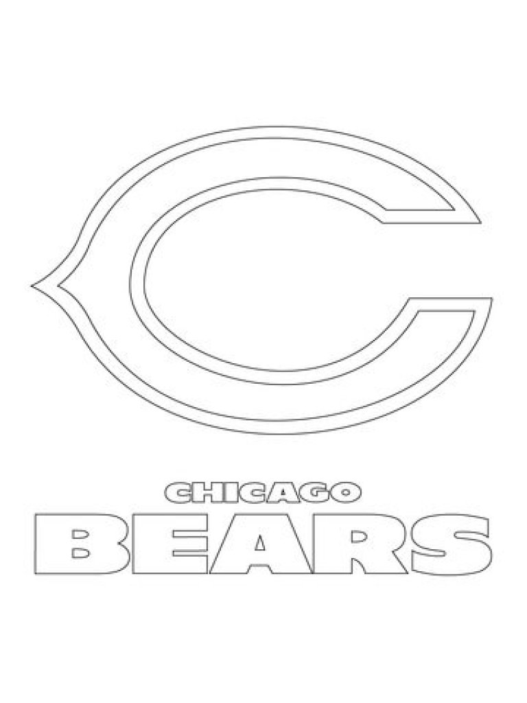 Chicago Bears Coloring Pages