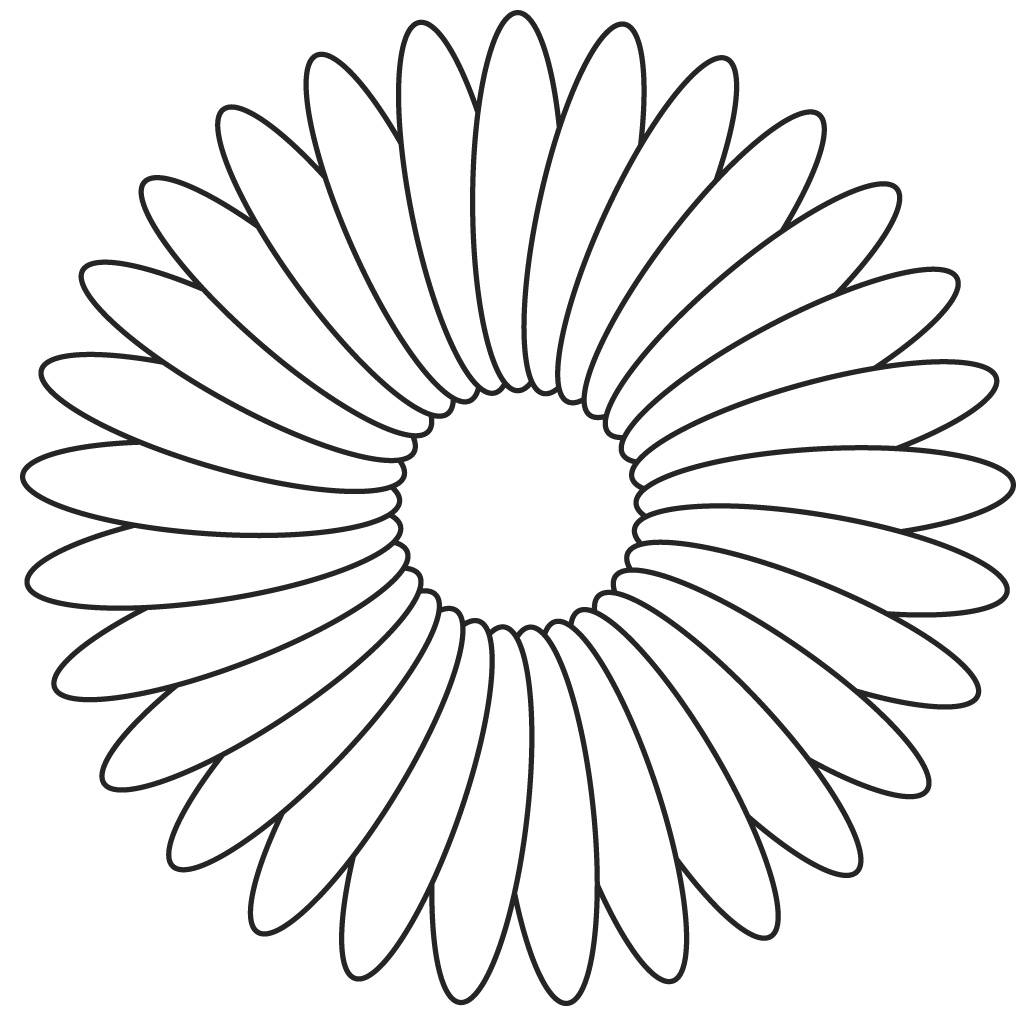 Inspirational Flowers Coloring Page 21 In Free Coloring Book With