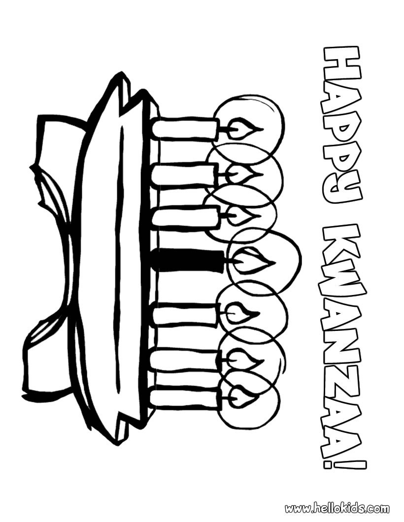 Kwanzaa Coloring Pages - NEO Coloring
