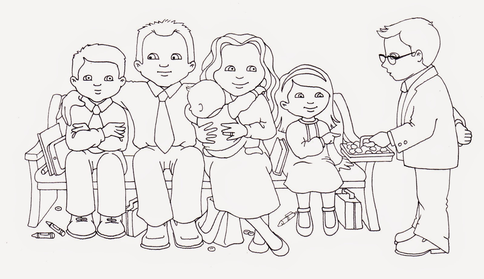 Lds Sacrament Coloring Pages Best Of Family