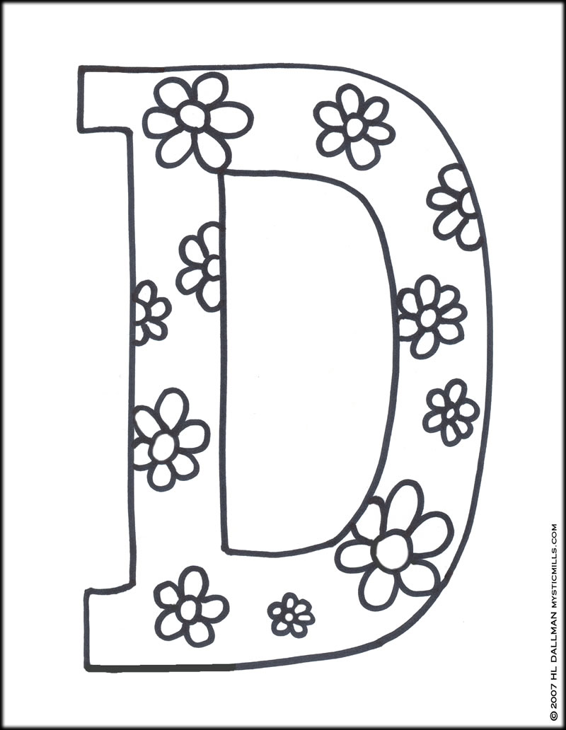 Letter I Alphabet Coloring Pages For Kids Abc Printables The
