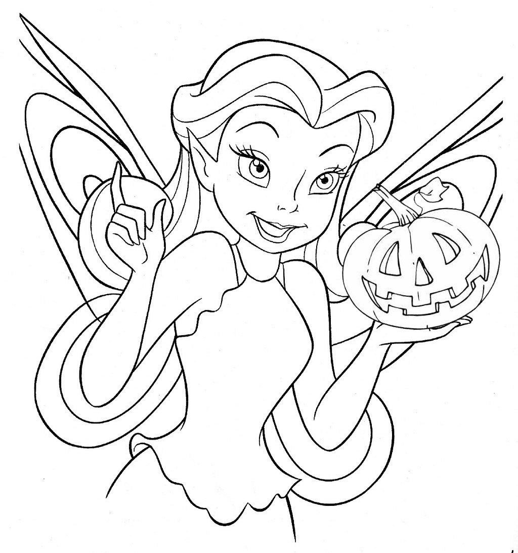 Lovely Disney Halloween Coloring Pages 20 For Your Picture