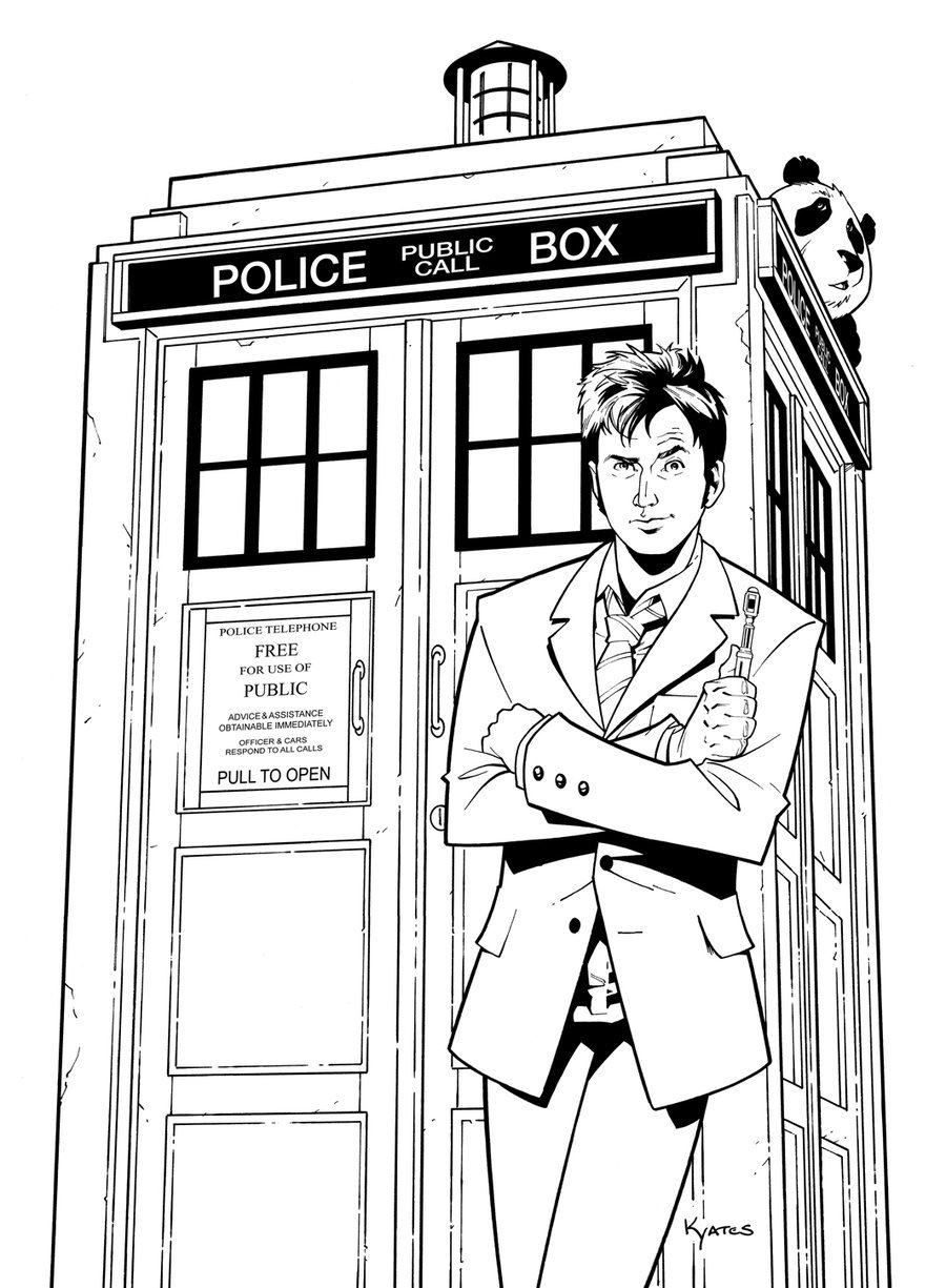 Lovely Tardis Coloring Page 88 About Remodel Picture Coloring Page