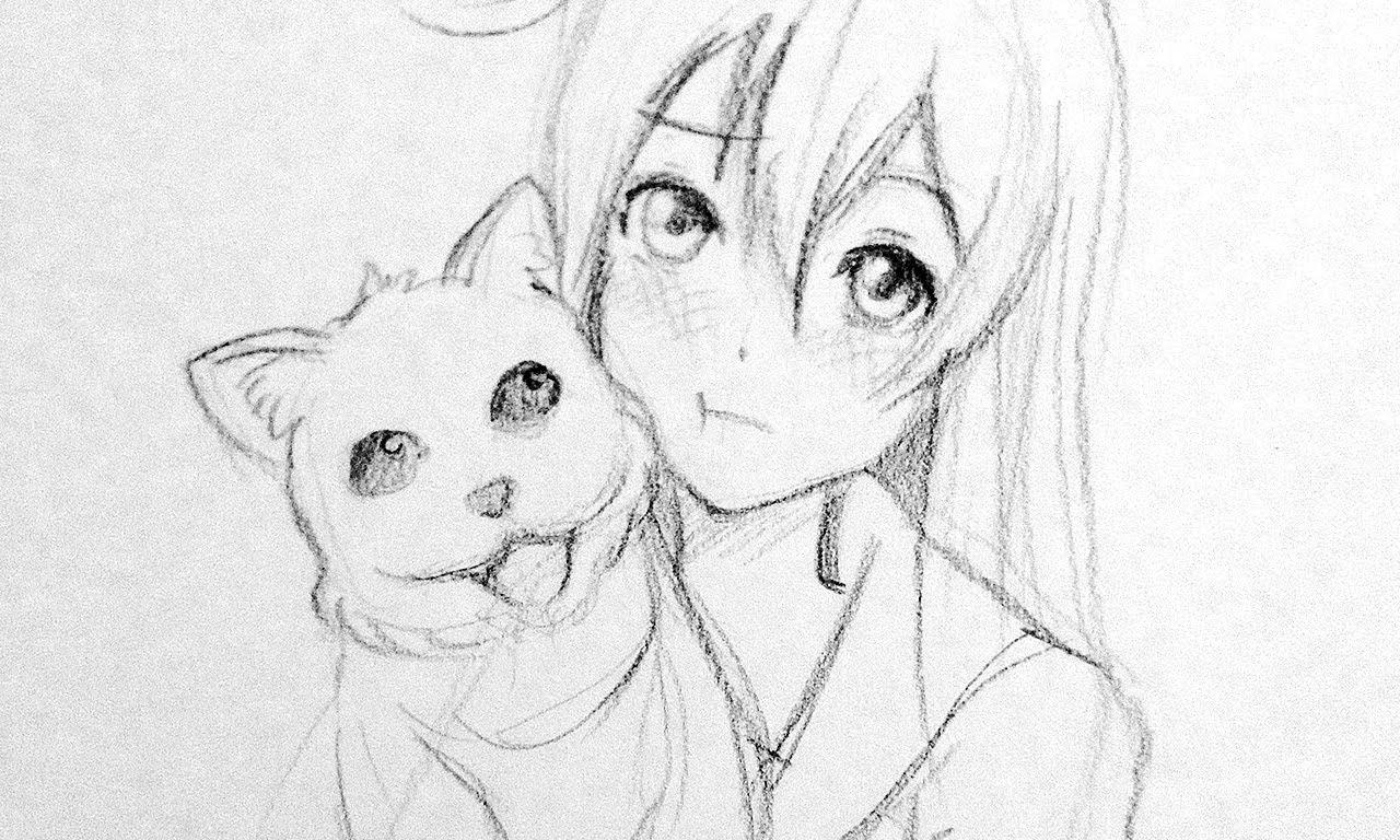 I Draw A Cute Anime Girl