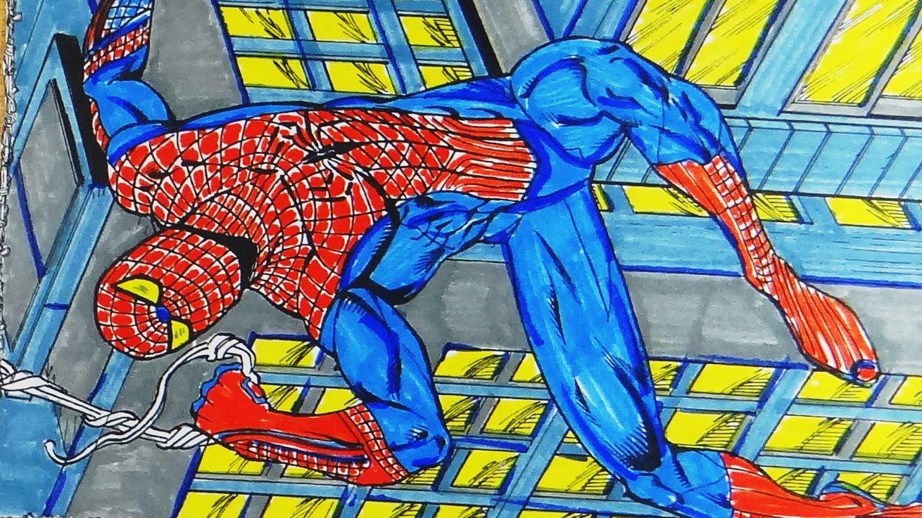Coloring Book ; Spiderman