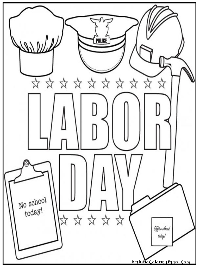 Labor Day Coloring Pages - NEO Coloring