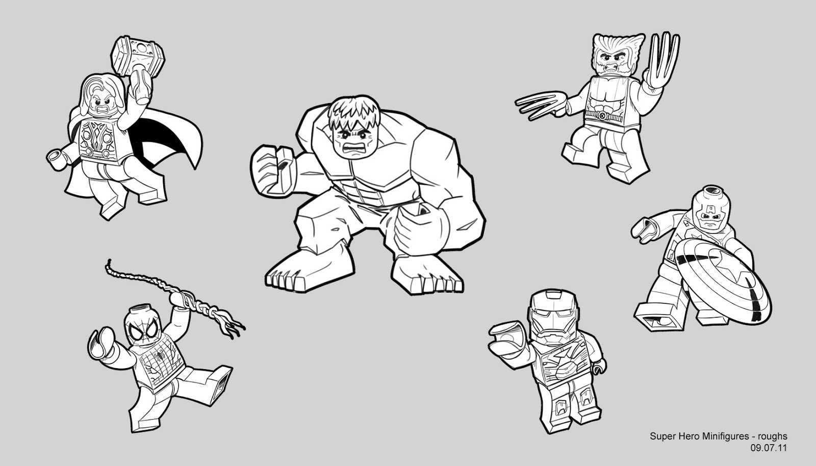 Perfect Lego Marvel Coloring Pages 41 For Your Coloring Books With