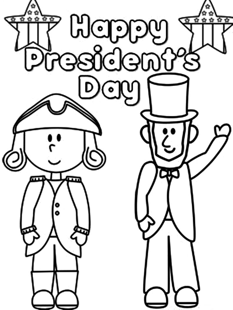 Presidents Coloring Pages » Coloring Pages Kids