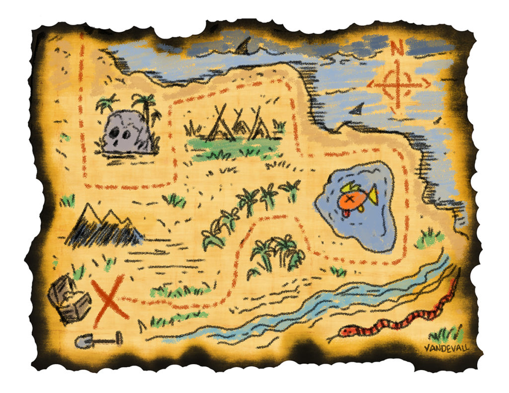 Printable Treasure Maps For Kids Treasure Map Print In New
