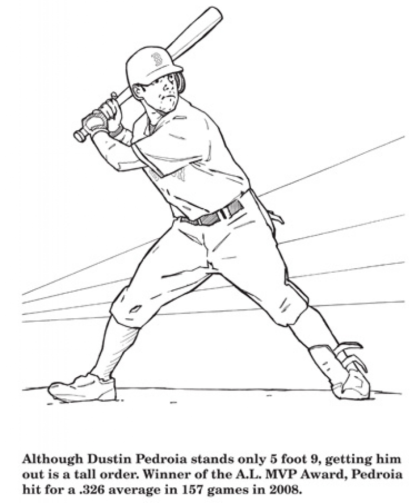 Red Sox Coloring Pages Best Of