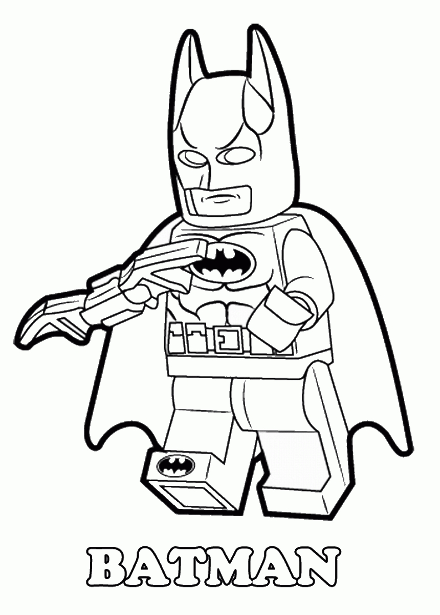 Lego Batman Coloring Pages Lego Dc Universe Super Heroes Coloring