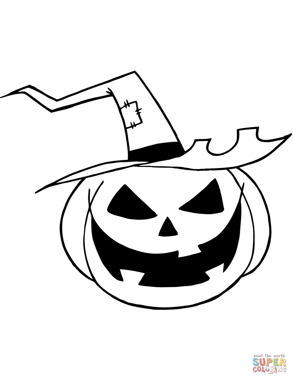 Jack O Lantern Color Page Jack O Lantern Coloring Page Free