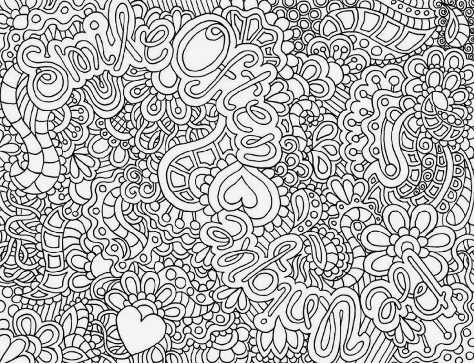 Smart Inspiration Coloring Pages For Grown Ups 3 Stunning Design